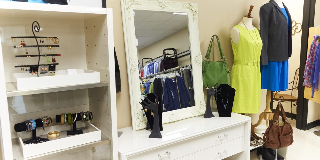 image of mirror and clothing